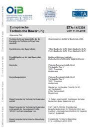 ETA BauBuche Träger