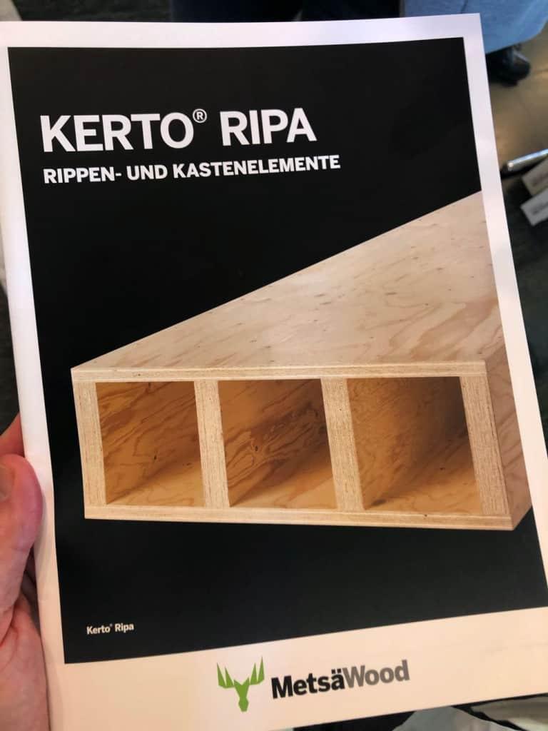 Kerto RIPA - Rippendecken aus LVL