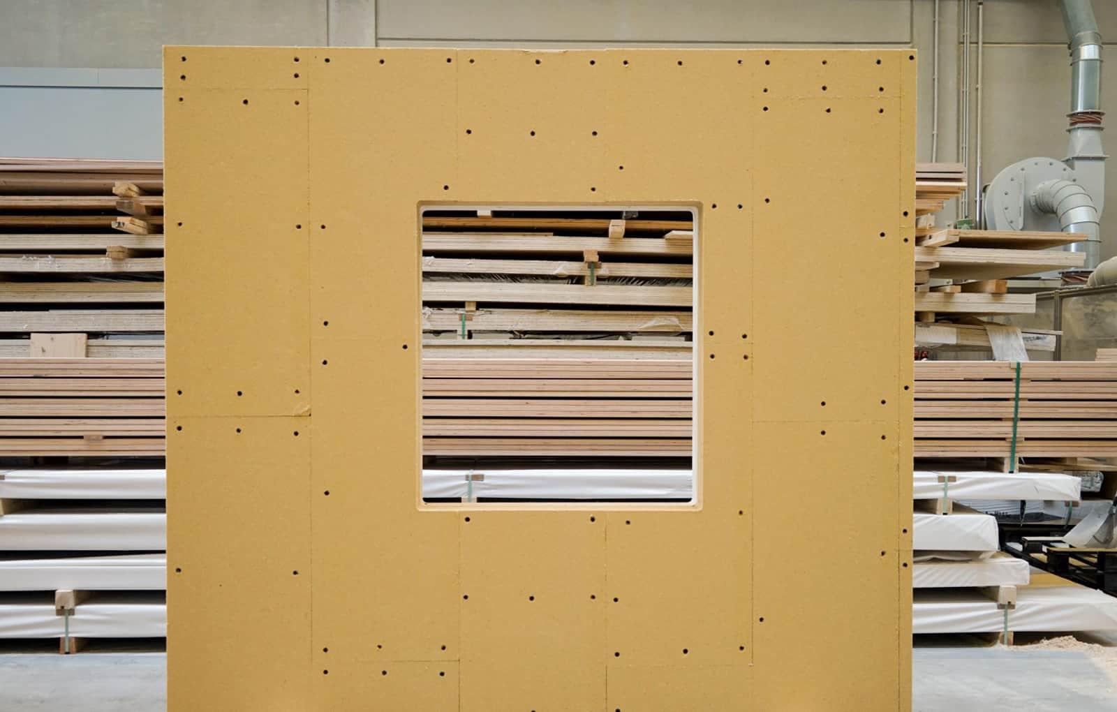 Wanelement Vorderseite ohne Fenster