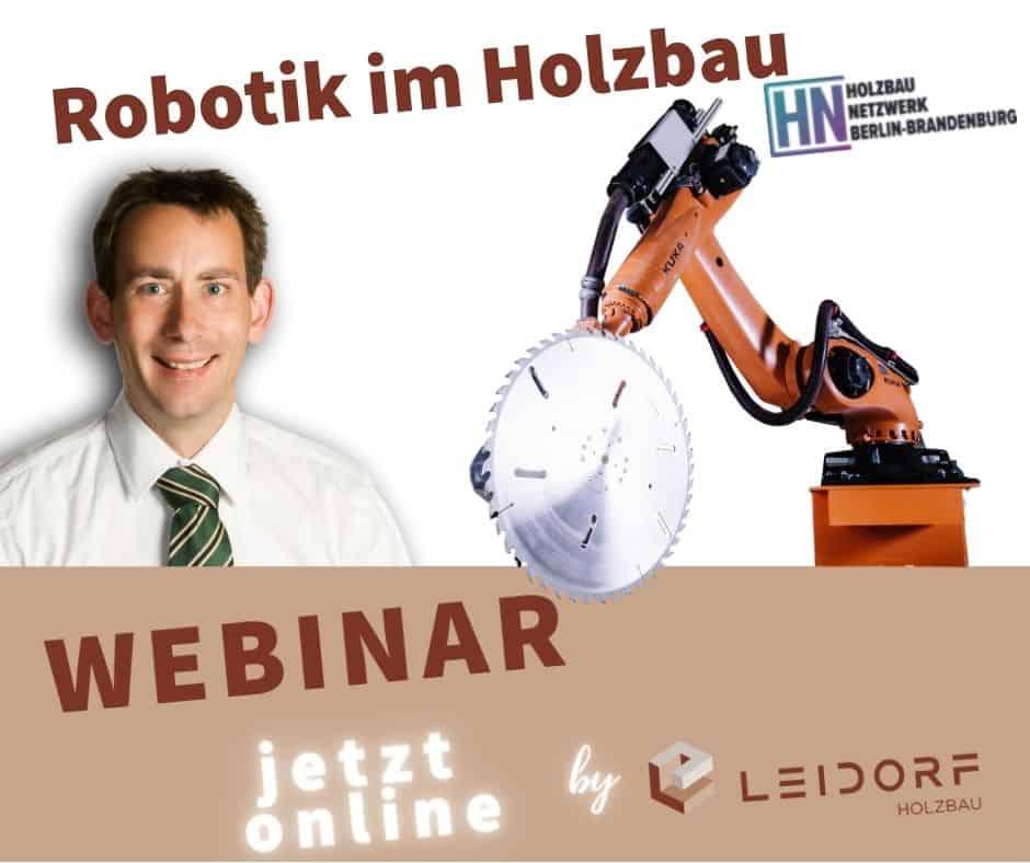 Webinar Robotik im Holzbau