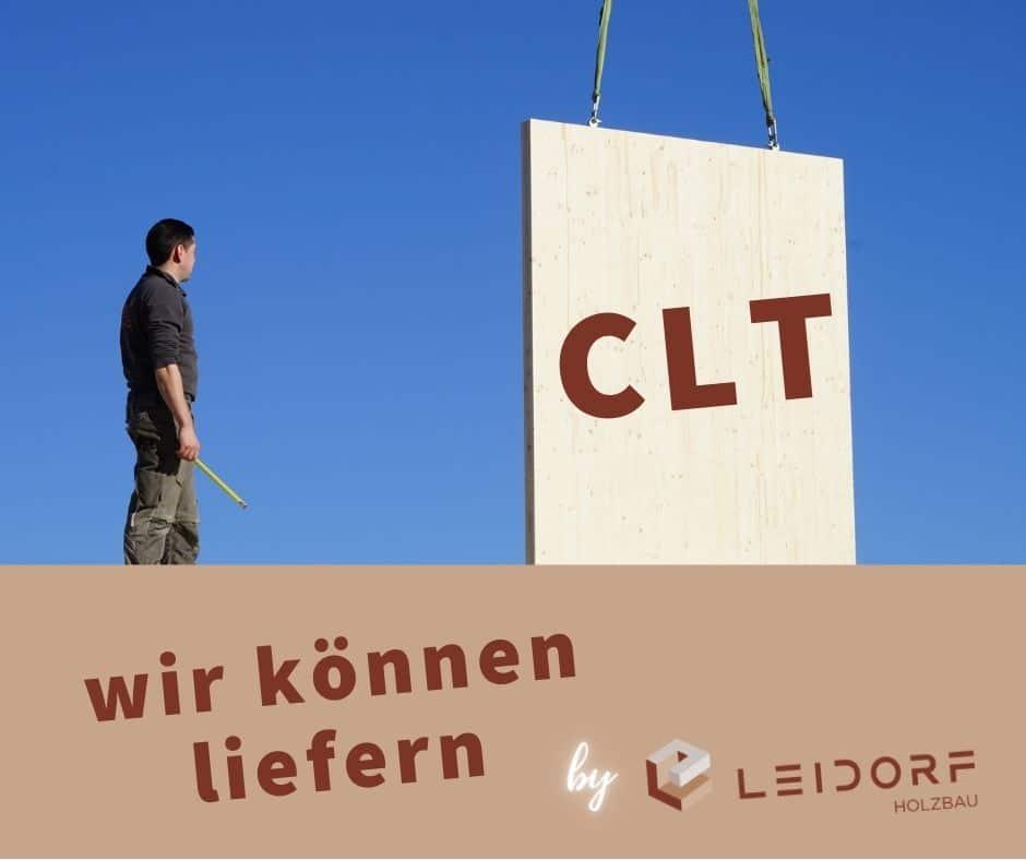 CLT - wir können liefern Brettsperrholz
