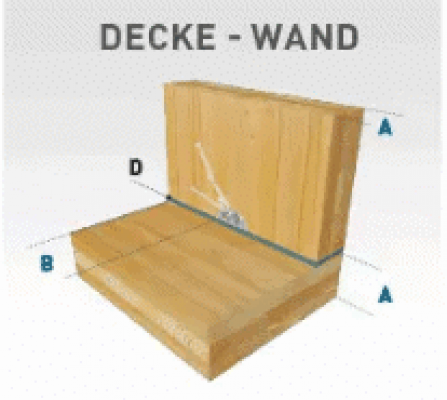 Sherpa CLT connector Wand-Decke